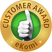 Customer award - eKomi