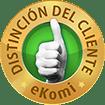 Distinción del cliente - eKomi