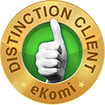 Distinction client - eKomi